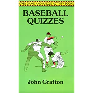 Baseball Quizes (Dover Game and Puzzle Activity Books)