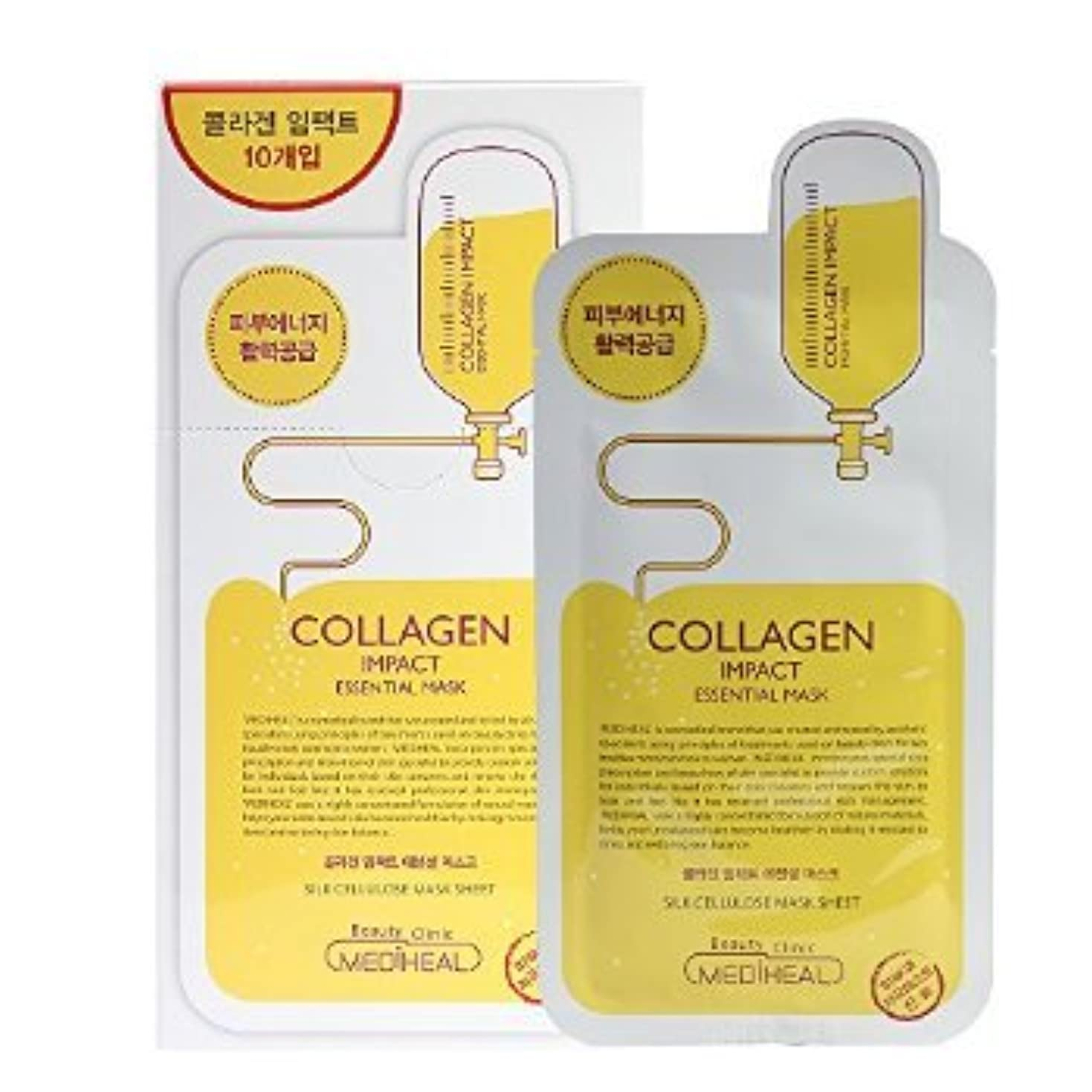 Korea Mediheal Collagen Impact Essential Mask Pack 1box 10sheet
