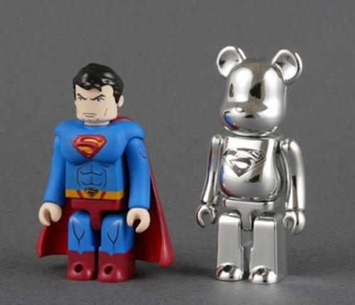 KUBRICK SUPERMAN & MAN OF STEEL BE@RBRICK SET ABS&PVC 塗装済みアクションフィギュア