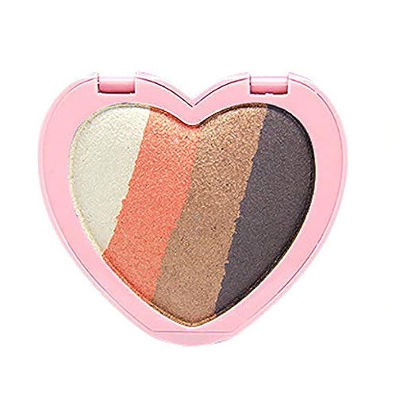 換気するアルミニウム映画アイシャドウ パレット 可愛い ハート型 アイシャドー パレット 韓国風 ファッショナブル 化粧品 オシャレ 人気 アイパレット キラキラ パールグリッター アイシャドーパウダー 美しい着色