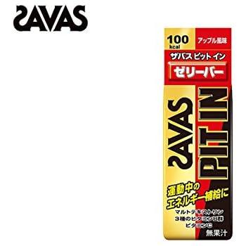 ザバス(SAVAS) ピットインゼリーバー アップル風味 50g