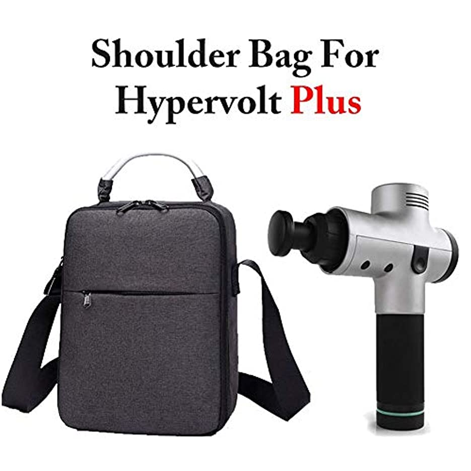 原油明確な盗難convokeri Hyperice Hypervolt Plus Fascial Massager に使用 のキャリングケース、Hyperice Hypervolt 5スロットマッスルマッサージャー用ポータブル防水耐震トラベル収納バッグ