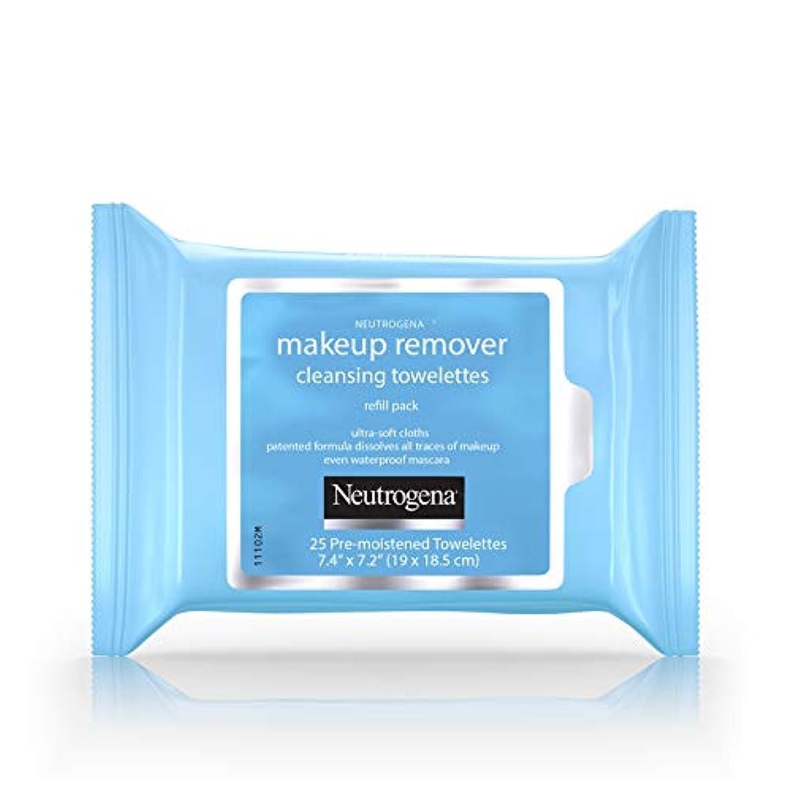 小麦粉気がついて泣いているNeutrogena Make-up Remover Cleansing Towelettes Refill Pack 25 Pc (並行輸入品)