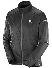 [サロモン]Salomon Agile Jacket - メンズ ランニング ジャケット BLACK XL [並行輸入品]