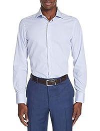 (カナーリ) CANALI メンズ トップス シャツ Regular Fit Stripe Dress Shirt [並行輸入品]