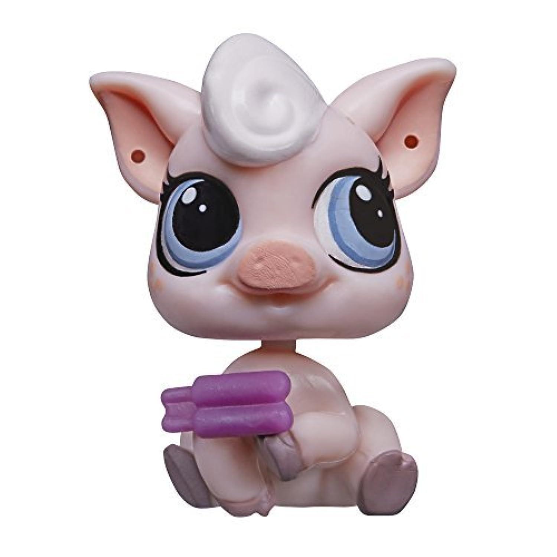 Littlest Pet Shop Get The Pets Single Pack Lolly Pinkington Doll by Littlest Pet Shop [並行輸入品]