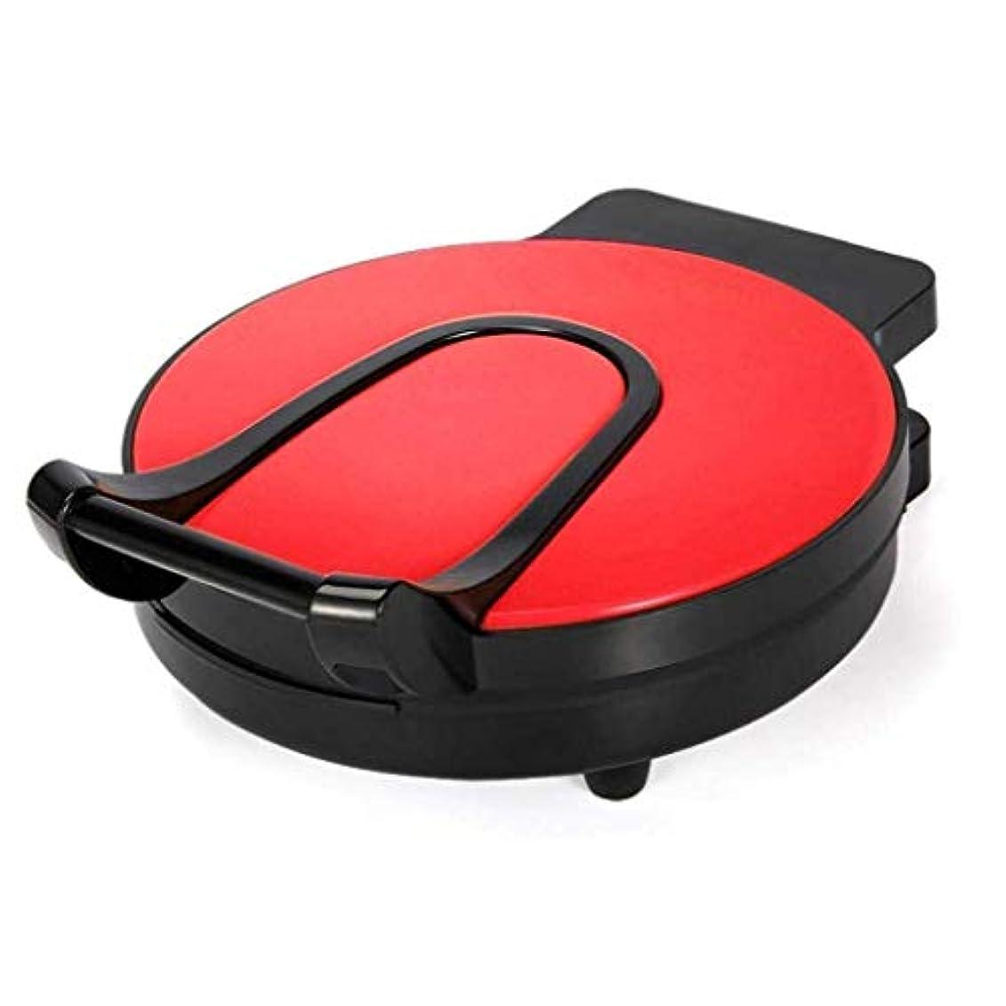 聖域ヒール社交的SHAAO 電気ベーキングパン、浮動両面調理キッチンディナーパーティーキャンプフェスティバルのための家庭自動電気ベーキングパン (Color : Red)