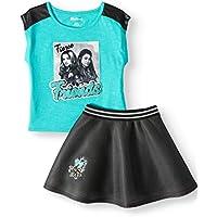DESCENDANTS 3 Graphic Top and Tutu Skirt, 2-Piece Outfit Set (Little Girls & Big Girls)