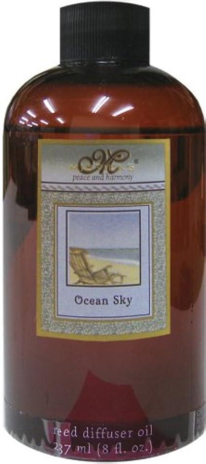 飾るまどろみのある銅Misticks リードディフューザー リフィル Ocean Sky オーシャンスカイ 237ml
