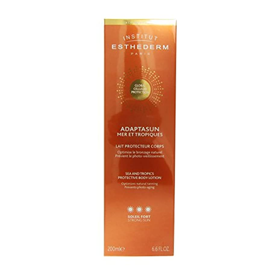 並外れて松明ゴールドInstitut Esthederm Protective Body Lotion Strong Sun 200ml