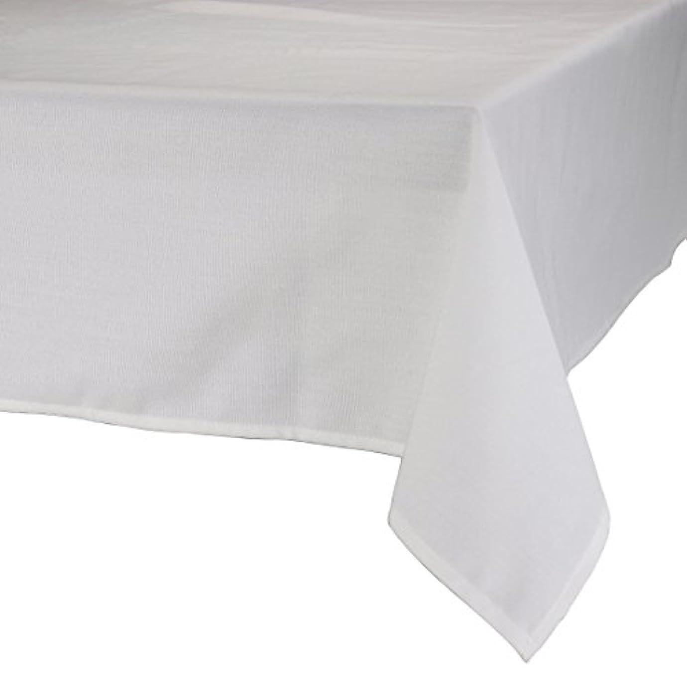 イチゴデマンド持参MAJEST(マジェスト) テーブルクロス 長方形180cmx280cm 布地 ホワイト 無地 繋なし 吸水タイプ