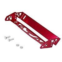 AL-mart 汎用 フロントバンパー ナンバープレート 可調整 フレーム ホルダー カバー 新型 カスタム JDMスタイル