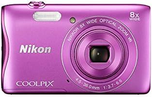 Nikon デジタルカメラ COOLPIX S3700 ピンク 光学8倍ズーム 2005万画素 S3700PK
