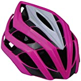 Fashion Male and Female Bicycle Helmet Adult Mountain Bike Riding Helmet Roller Skating Helmet Pretty (Color : Pink)