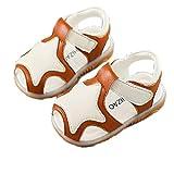 [Nana_Collection(ナナコレクション)] 夏 子供靴 赤ちゃん シューズ サンダル 星 スター お出かけ ベルクロ 滑りにくい イエロー 15.0cm