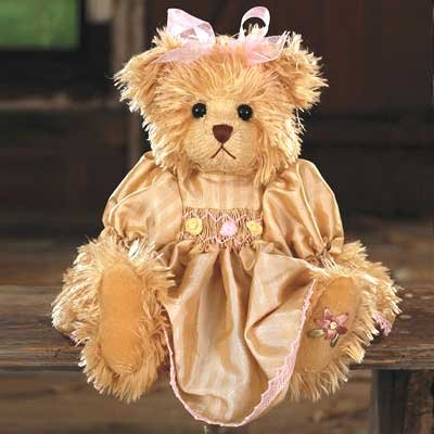 ぬいぐるみ くま テディベア Tasha ターシャ 35cm ベージュ Settler Bears セトラベアーズ 動物 熊 子供 キ...