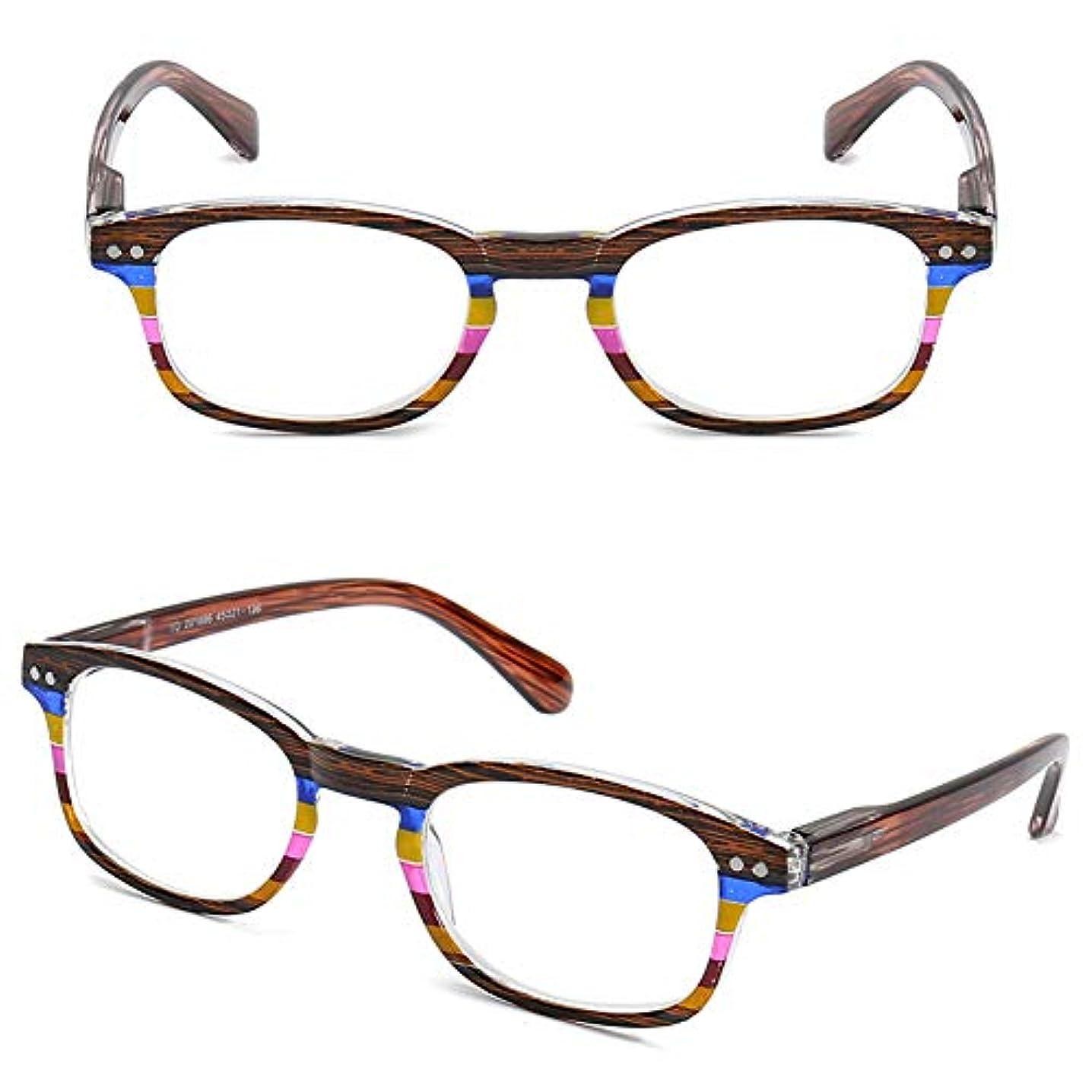 その経験的無限大男性と女性のファッション超軽量老眼鏡、春脚超軽量快適でシンプルなポータブルメガネ、厚いPC双翼レンズ