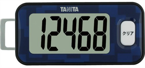タニタ(TANITA) 3Dセンサー搭載歩数計 藍色 FB-7...
