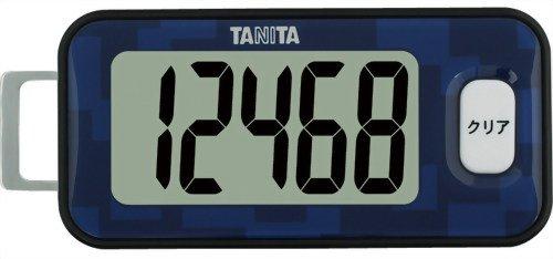 タニタ 3Dセンサー搭載歩数計 アイイロ FB-731-BL(1台)