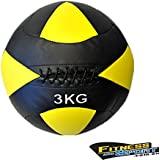 Cross-fit 3KG Medicine Wall Ball Fitness Gym Strength Training Exercise Gear