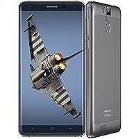 64bit Octa-Core 新世代セルSCUD 6000mAh Battery搭載★OUKITEL K6000 PRO 日本仕様★5.5インチHD IPS液晶 4G LTE SIM Free 2 Slotスマホ●RAM 3GB+ROM 32GB・Android 6.1 Marshmallow・500万+1300万画素カメラ●指紋認証・スマート充電・Smart WakeUp・Gesture recoganition (グレーメーカー保証付き)