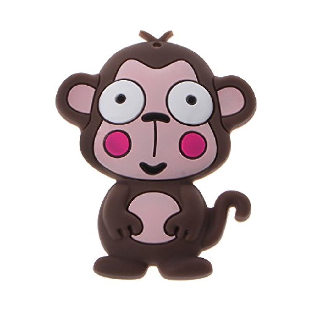 滞在あらゆる種類のデッドロックLanddumシリコーンおしゃぶり漫画猿頭蓋骨おしゃぶり赤ちゃん看護玩具かむ玩具歯が生えるガラガラおもちゃ
