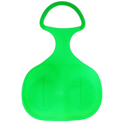 ヒップスライダー ヒップソリ 握り手付きソリ 芝滑りソリ 雪滑りソリ (緑)