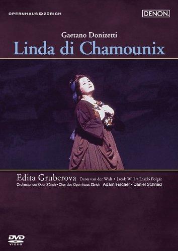 ドニゼッティ:歌劇《シャモニーのリンダ》チューリヒ歌劇場1996年 [DVD]