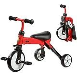 三輪車、トライクキッズバイク、折りたたみ式三輪車 - 推奨高さ:80-120cm ( Color : 2 )