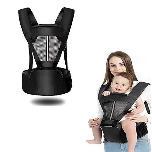 抱っこひも 4WAY ヒップシート ベビーキャリア ウエストキャリー分離可能 通気性がよい Yogaily おんぶ紐 多機能 新生児から使用 出産祝い