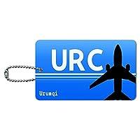 Urumqi 中国(URC)空港コード IDカード荷物タグ