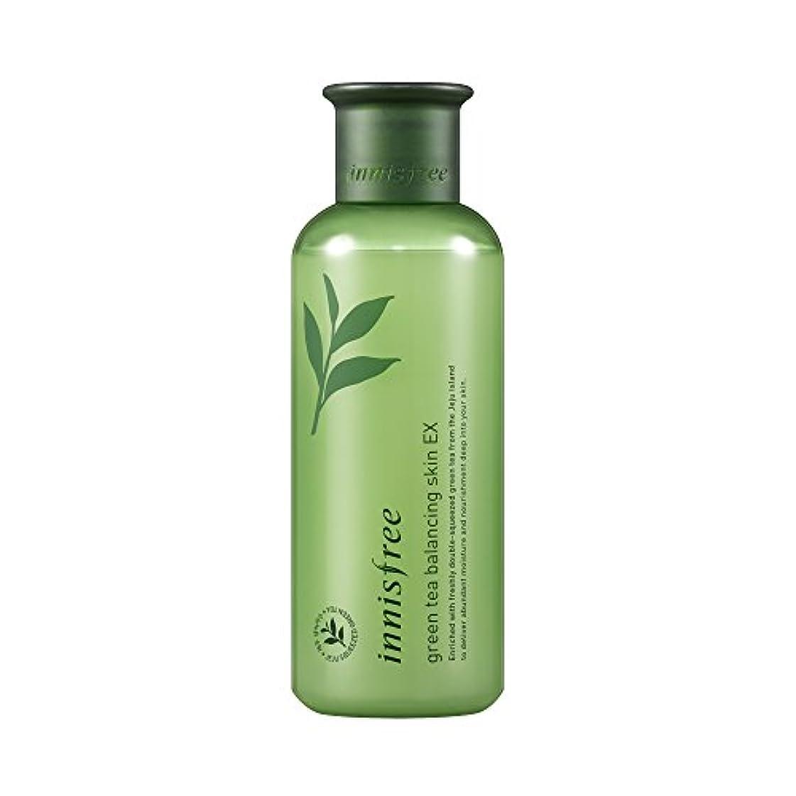 誤解させる調和のとれた起きろイニスフリー日本公式(innisfree) グリーンティー バランシングスキン[化粧水]200mL