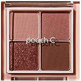 PEACH C フォーリング イン アイシャドウ パレット PEACH C Falling in Eyeshadow Palette 3.Pink [並行輸入品]