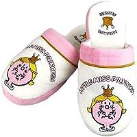 Mr. Men Little Miss Princess Mule Slip On Slippers - One Size