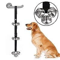 ペットの初心者おもしろい猫のおもちゃの犬アウトのドアベルペットの鐘レインズペットのドアアシストの犬の犬のドアを助ける警報 (サイズ さいず : 2.5CM wide (3 bells))