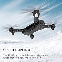 Saikogoods ドローン SG900 折り畳み式 720P WIFI FPV GPS搭載 Optical 光流定位 ヘリコプター カメラ付き