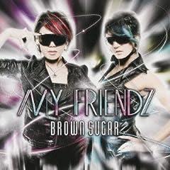 BROWN SUGAR「MY FRIENDZ」のジャケット画像