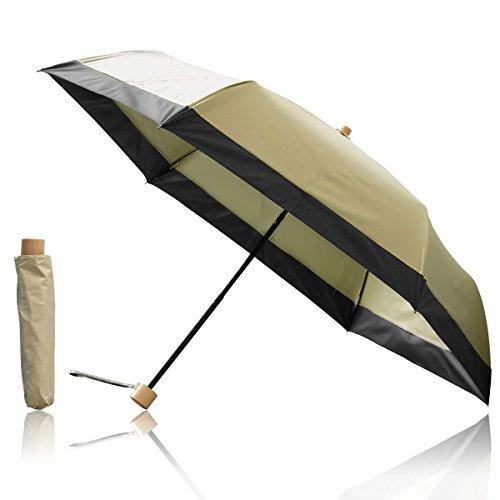 Ombrage 完全遮光 日傘 ショートパラソル 親骨50cm 【5cmエッジラ...