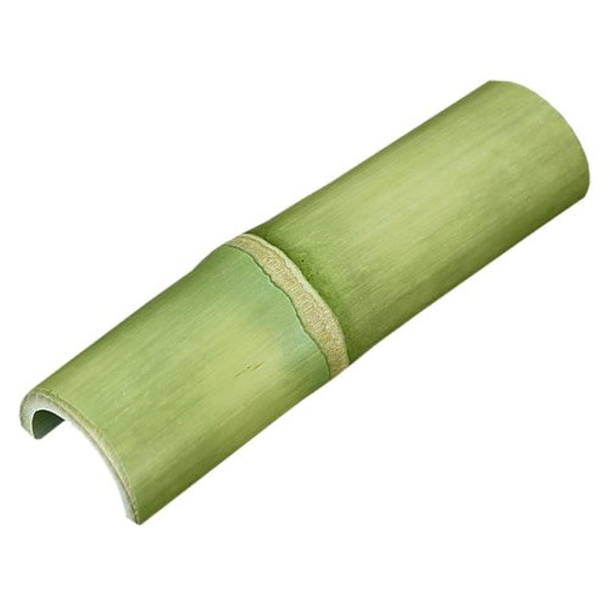 出発骨運ぶ【国産】青竹踏み(携帯用) 無塗装の天然竹そのままの踏み心地!出張先や旅行先で手軽に足裏マッサージ便利なコンパクトサイズの携帯用青竹踏み