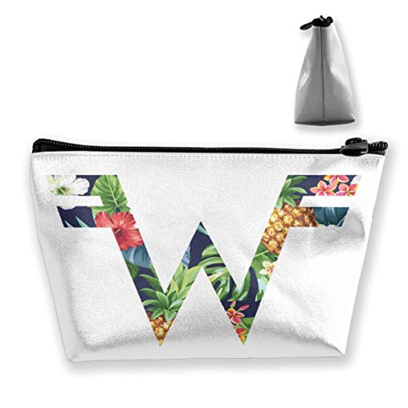 収納袋 コスメポーチ 筆箱 台形 化粧品入れ 高級品 軽い 大容量 普段使い 学生 サラリーマン 出張 スポーツ 多機能 贈り物 Weezer Logo 花柄