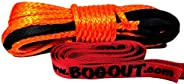 Super Rope 6mm x 15mtr Synthetic Extension Rope for BOG Out Vehicle Recovery Gear