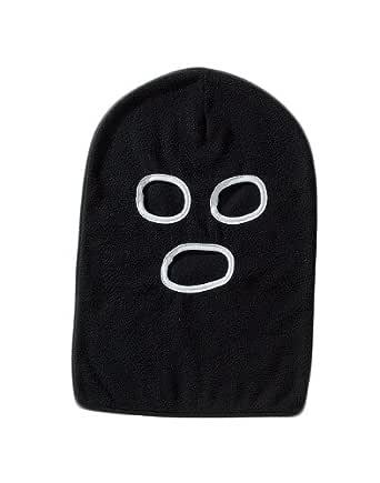 関西ファッション連合 防寒フェイスマスク フリース レスラーマスク 目出し帽 アソート(※色指定不可) B-96