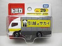 ≪トミカ≫⇒No29 三菱キャンター 引越のサカイ BP