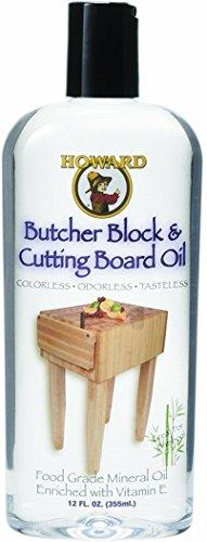 Howard Butcher Block Cutting Board Oil(12oz)(ブッチャーブロックオイル・並行輸入品) [並行輸入品]