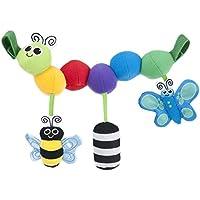 サッシー(Sassy) キャタピラー・キャリーズ 赤ちゃんおもちゃ(0ヶ月から対象) 知育玩具 おでかけ ベビーカー用 ベビーベッド用 TYSA80071