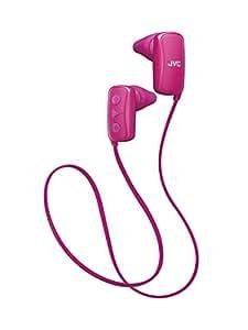 JVC スポーツ用ワイヤレスイヤホン Bluetooth対応 ピンク HA-EB10BT-P