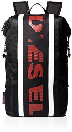 989116d7cad0e1 (ディーゼル) DIESEL メンズ リュック バックパック SPORTYDIESEL F-SPORTY BACK - backpack  X05316P1620 UNI (Free) ブラック H3212