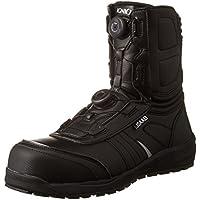 [イグニオ] セーフティシューズ(安全靴) JSAA A種認定 耐滑ソール ブーツタイプ TGFダイヤル式