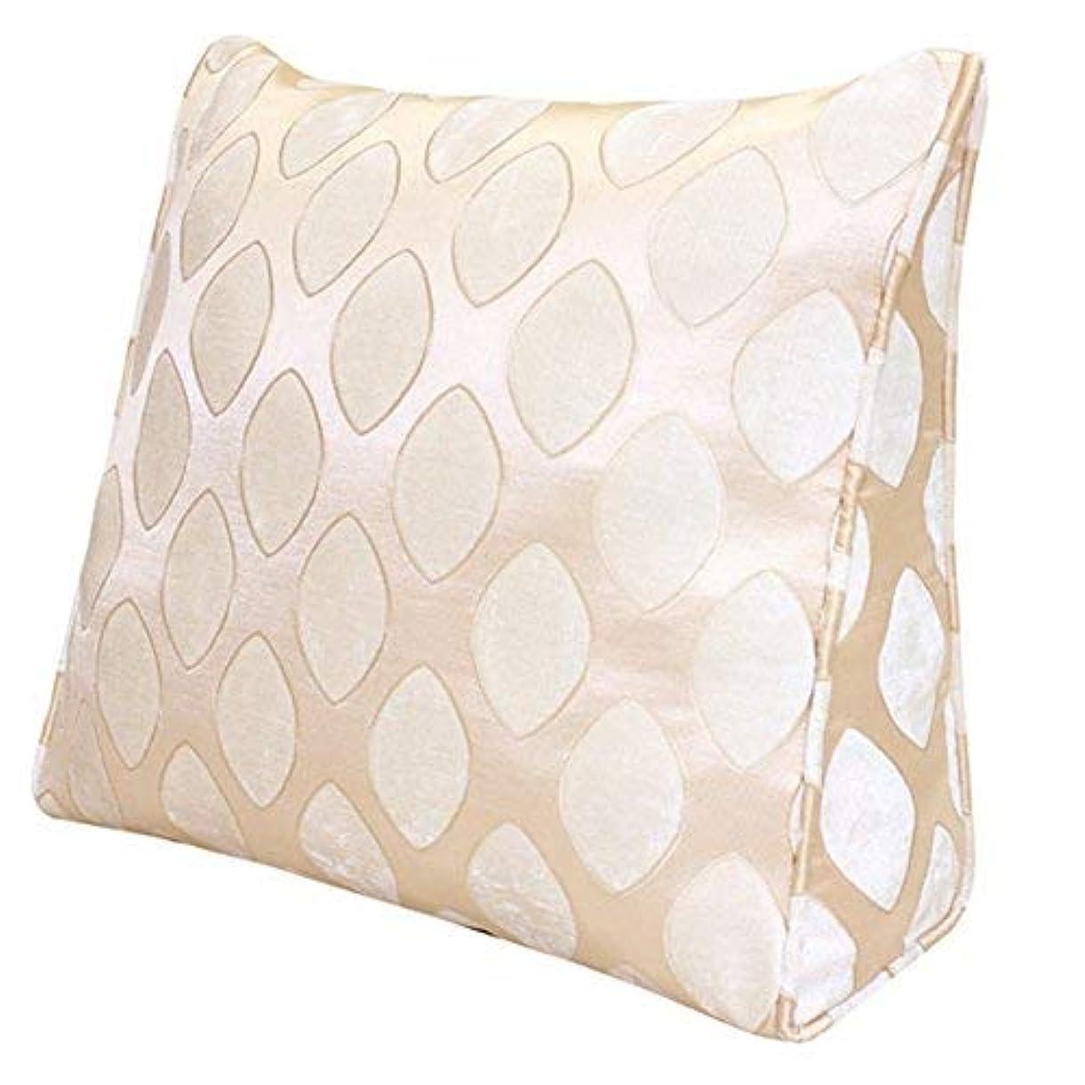 遠近法不愉快に使用法31-luoshangqing クリエイティブソファー厚いベッドバックシングルソファーチェア枕クッション (Color : A, サイズ : 60*50 cm)
