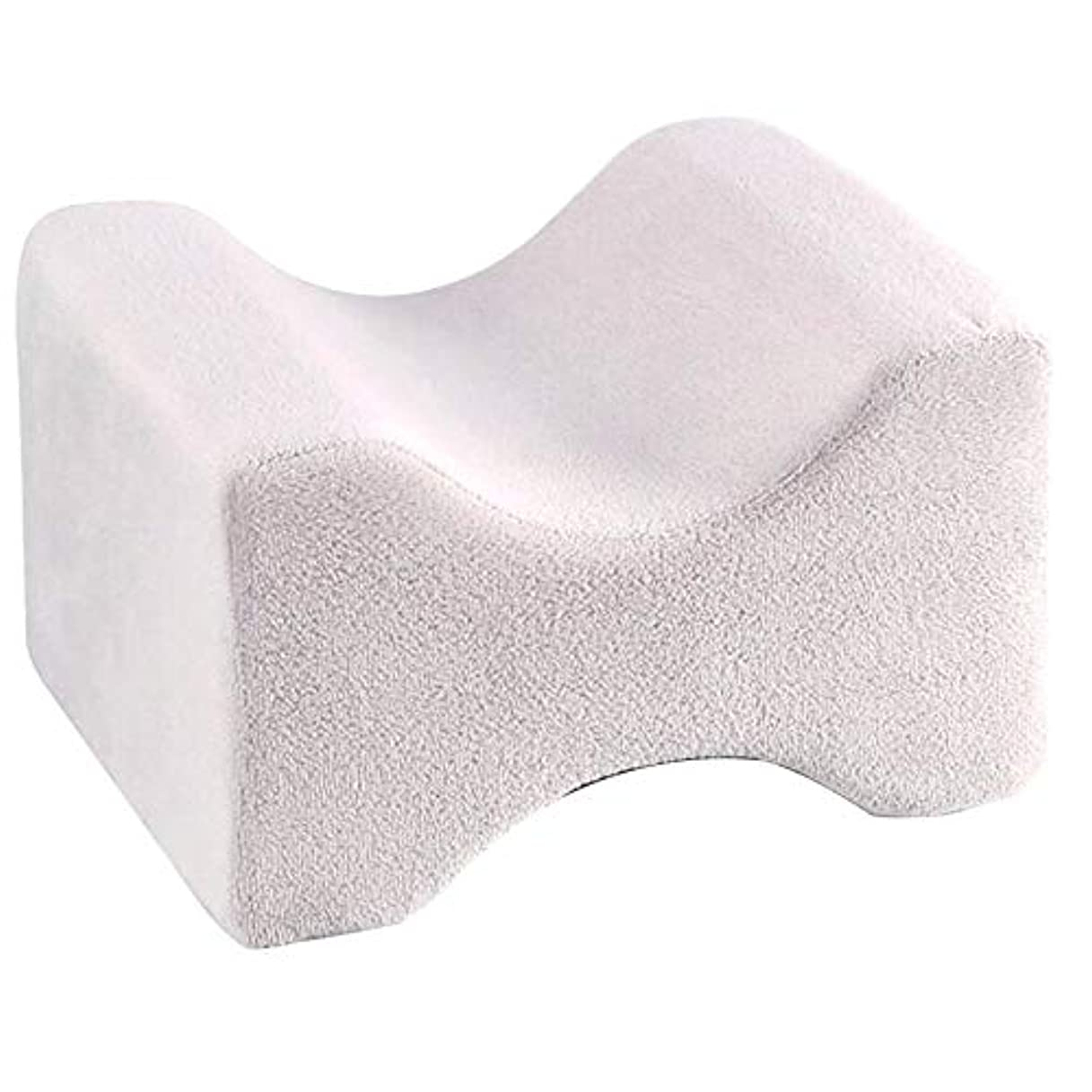 腹リークレイソフト枕膝枕クリップ足低反発ウェッジ遅いリバウンドメモリ綿クランプマッサージ枕用男性女性